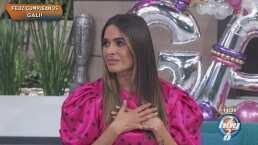 """Galilea Montijo se sorprende al recibir una inesperada llamada de su mamá: """"Feliz cumpleaños mi amor"""""""