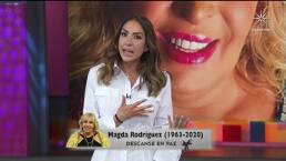 Así fue el homenaje de 'Cuéntamelo ya!' a Magda Rodríguez: Cynthia Urías y Roxana Castellanos no contuvieron el llanto