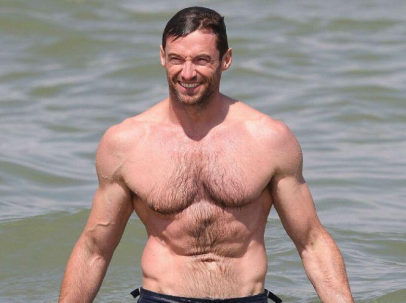 Una sonrisita para la cámara, sin duda es el australiano más sensual y exitoso en Hollywood.