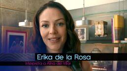 El primer día de llamado de Erika de la Rosa