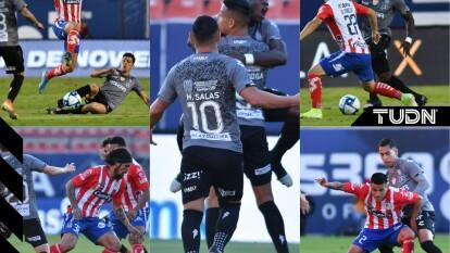 Con goles de Mauro Quiroga al 32 y Cristian Calderon al 90+3 el Necaxa se impone de visita 0-2.
