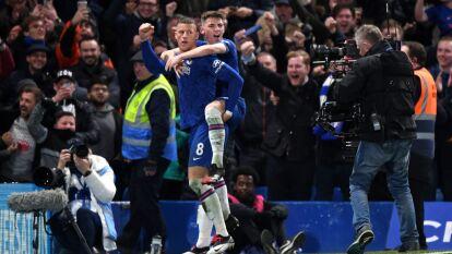 Con goles de Willian y Ross Barkley, Chelsea gana y elimina al Liverpool de la FA Cup.
