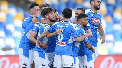 Mertens, Callejón y Younes le dieron el triunfo al Napoli 3-1 sobre el SPAL; Hirving 'Chucky' Lozano jugó 25 minutos.