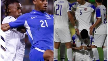 Costa Rica le pega a Curazao y Honduras sufre en Martinica.