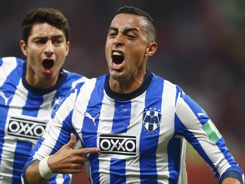Qatar Soccer Mexico Rogelio Funes Mori