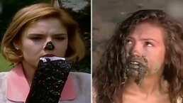 Estas fueron las épicas escenas de 'Marimar' en donde Thalía y Chantal Andere tuvieron que comer lodo