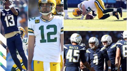 Chargers brinda sublime exhibición ante Packers y aún sueña con pelear por un boleto a playoffs.