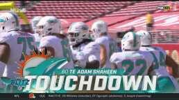Los Dolphins pegan primero tras TD de Adam Shaheen