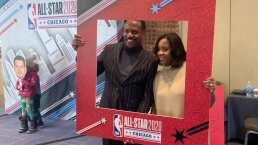 Este es el 'fortín' que montó la NBA para el All Star Weekend en Chicago