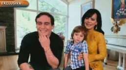 """""""Soy una suertuda"""": Maribel Guardia se siente feliz a lado de su hijo y nieto, hoy en sus cumpleaños"""