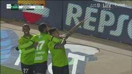 Penalti clarísimo y el mismo Lezcano convierte el 2-0 de Juárez