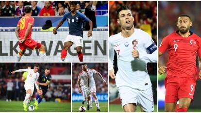Los triunfos de Inglaterra, Francia o Portugal, rumbo a la Euro 2020.