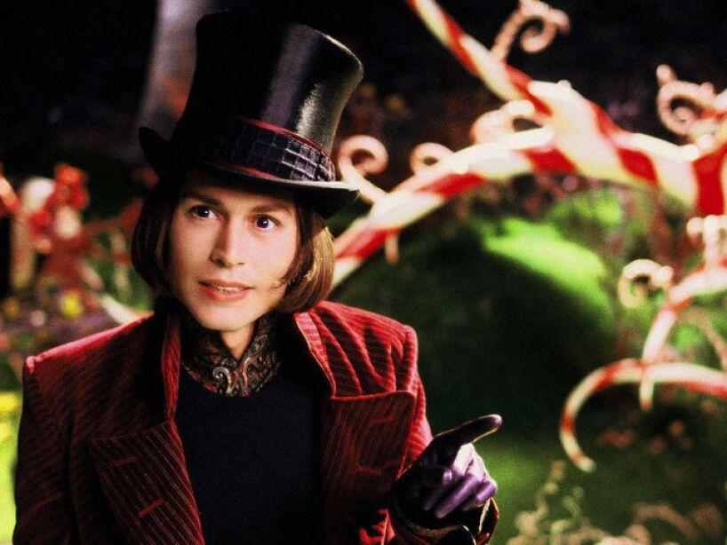 9. Charlie and the Chocolate Factory (2005): Willy Wonka (Depp) es el fabricante de dulces más inusual del mundo.