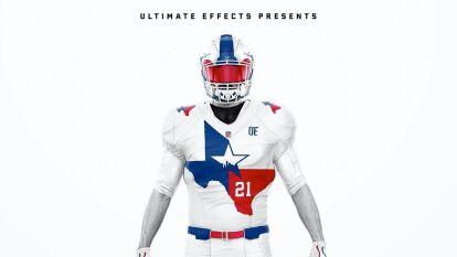 Los uniformes de la NFL inspirados en sus ciudades de origen | Esta es la última propuesta que está dando mucho de qué hablar en las redes sociales. | Dallas Cowboys - Los colores de la bandera de Texas adornan el pecho del jersey.