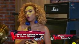 Paola Guanche se despide deseando mucho éxito a sus compañeros