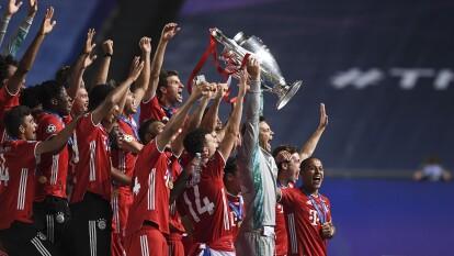 ¡Así levanta la copa el Bayern Munich!