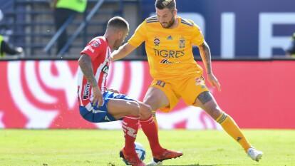 Tigres se puso en ventaja con gol de Hugo Ayala pero Germán Berterame empató el encuentro para decretar el 1-1 final.