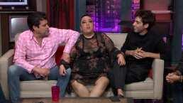 Alejandra Ley visita a los 'Miembros' y desata las risas al hablar de algunas de sus infidelidades
