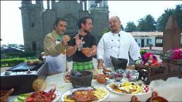 ¡Cocina sisas asadas con el Chef Gibaja y el Chef René Serna!