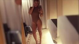 Marcela Lecuona les modeló un body a su fans