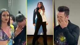 Andrea Legarreta graba emotivo momento entre Ari Borovoy y los 0V7 antes de su último show