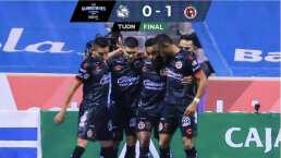 Resumen | Xolos doblega 0-1 a Puebla con un penalti de Fidel Martínez