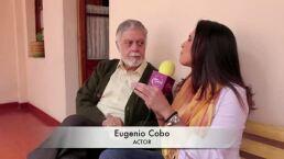 El primer actor Eugenio Cobo llega al Dicho