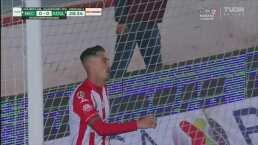 ¡No se tiene confianza! Ian González deja escapar el 1-0 de Necaxa