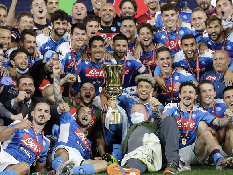 APTOPIX Italy Soccer Italian Cup