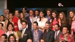 La alfombra amarilla de Premios TVyNovelas