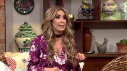 Andrea Escalona revela el secreto de Yanet García para hacer crecer las pompas