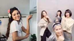 Selena Gomez y BLACKPINK causan sensación en TikTok con su coreografía de 'Ice Cream'
