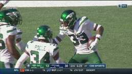 Otro error de Patriots que aprovechan los Jets