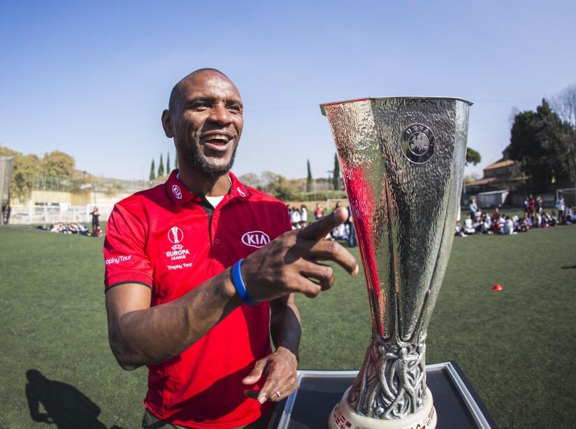 UEFA Europa League Trophy Tour Driven by Kia