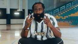 James Harden se pone la de la Juventus y presume ser fan de Dybala