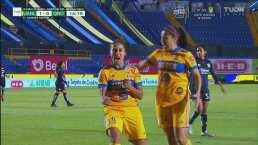 ¡Casi liquidan la serie! Stephany Mayor anota el 1-0 para Tigres