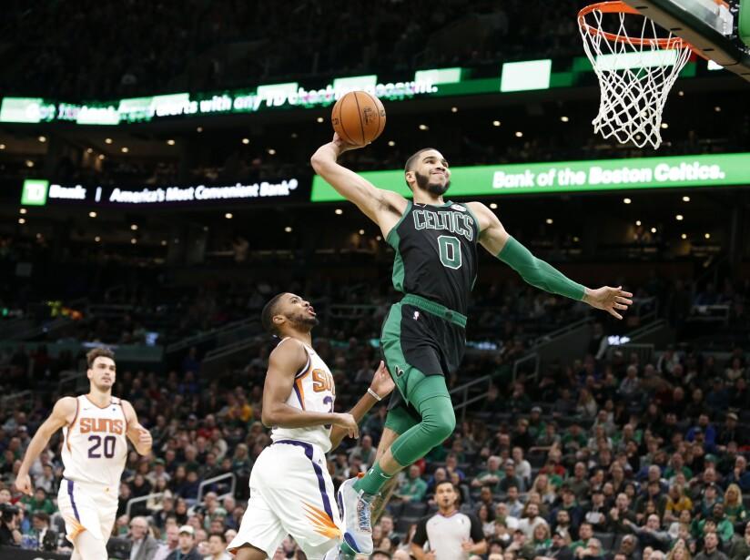 Suns Celtics Basketball