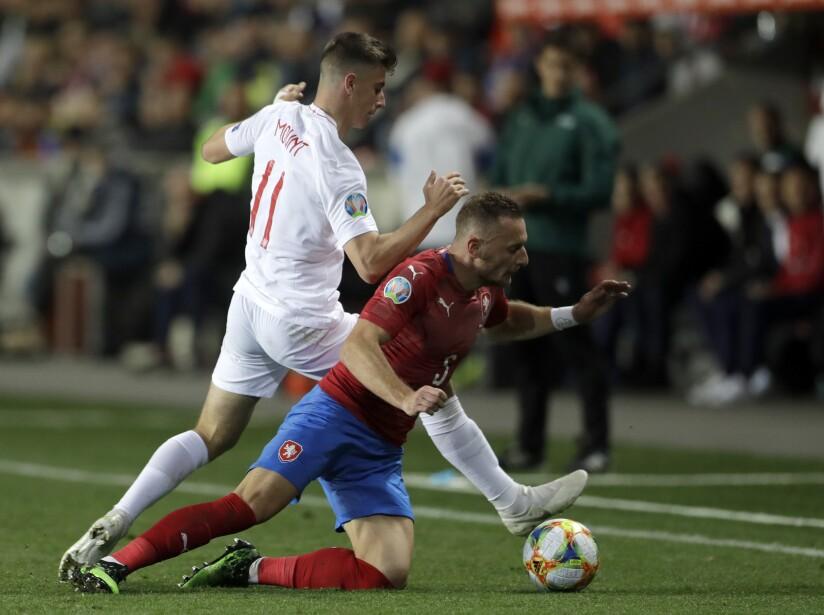 Czech Republic England Euro 2020 Soccer