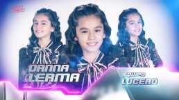Danna Lerma canta 'Sin él' en la semifinal de La Voz Kids