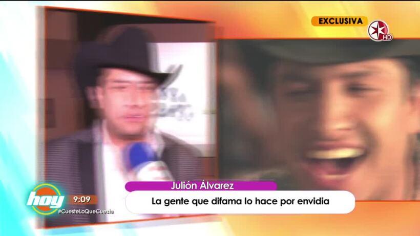 Julión Álvarez, enfrenta críticas ante supuestas declaracines en las que discrimina a la mujer