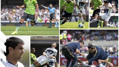 Pumas 1-1 FC Juárez, con goles de Carlos González y Esquivel; Malcorra falló un penal.