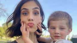 Video: Sandra Echeverría es balconeada por su ocurrente y divertido hijo, Adresito de Lozanne