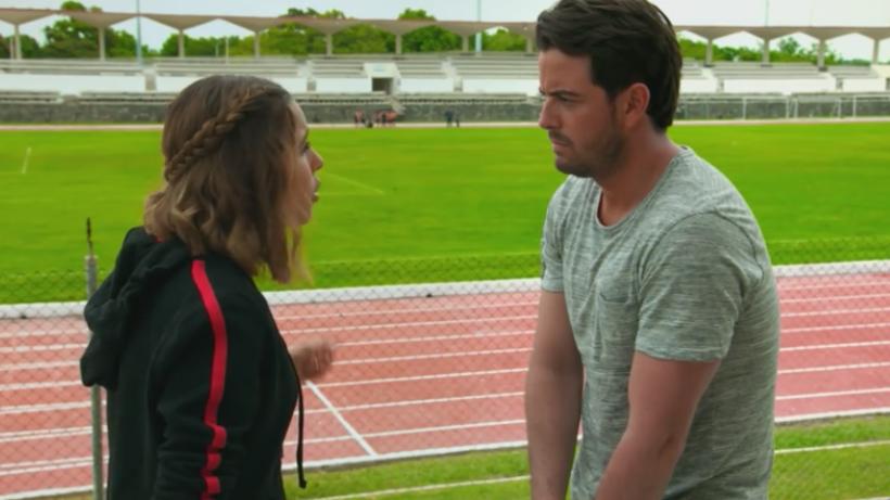 Victoria rechaza a Andrés para continuar su sueño
