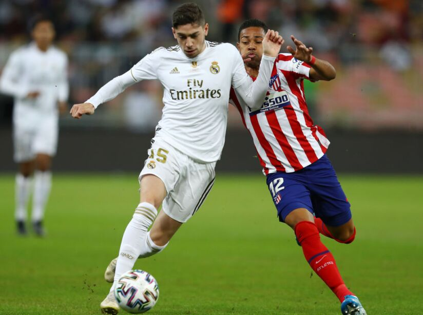 Real Madrid v Club Atletico de Madrid - Supercopa de Espana Final