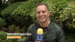 Arturo Macías amó la parte musical del inicio del mundial
