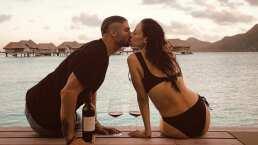 '¡Llegamos al paraíso!': Marimar Vega y Horacio Pancheri presumen sus vacaciones en Bora Bora