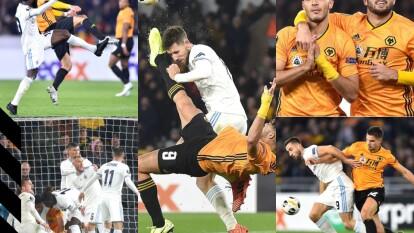 Con susto y alegría de Raúl Jiménez, el Wolverhampton se impone en casa por la mínima al Slovan Bratislava.