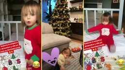 ¡Alerta de ternura! Kailani empieza diciembre con toda la actitud navideña
