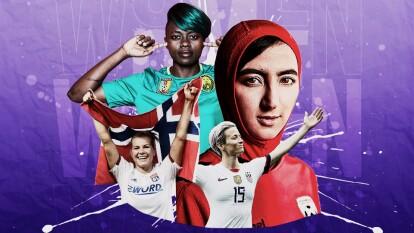 En cada rincón del mundo hay futbolistas que se han pronunciado a favor de luchar por sus derechos y por tener las condiciones favorables para practicar este deporte de forma profesional y ser referente para las futuras generaciones.