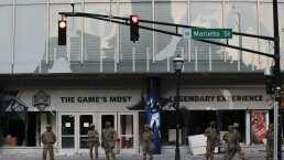 Protestas en Atlanta dañan el Salón de la Fama del College Football